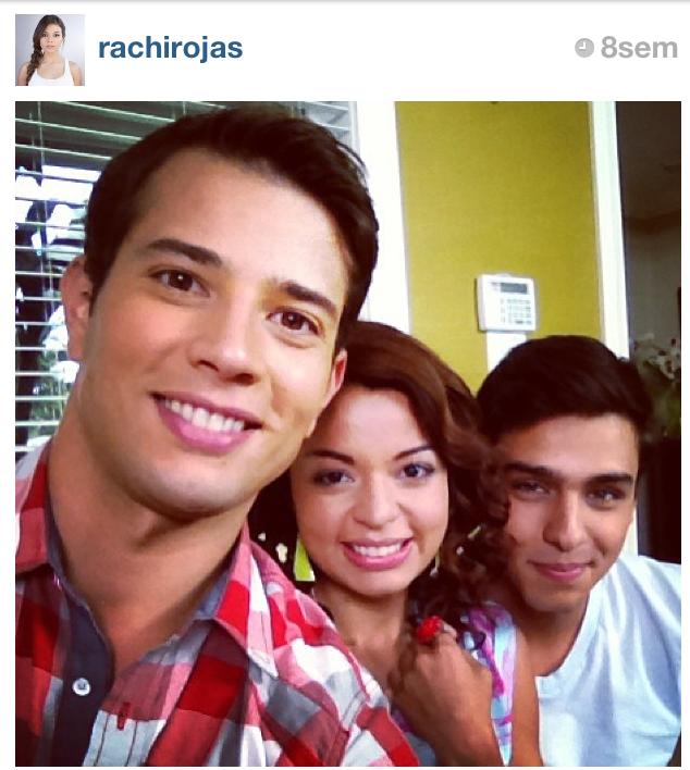 Rafael, Rachi y Guillerme