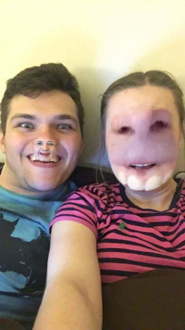 29 Times Snapchat Filters Went Horribly Wrong 22 Words