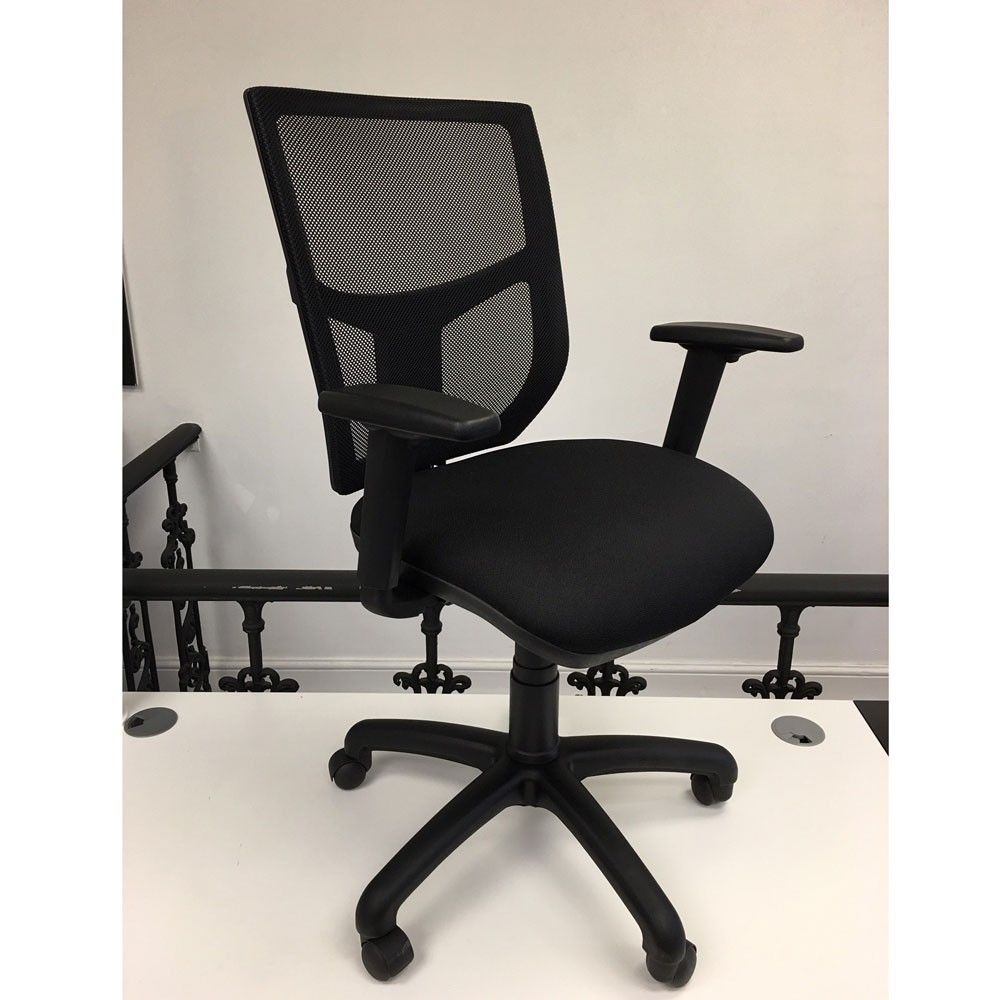 Chelsea Mesh Back Office Chair Next Day Delivery Only 99 Vat Nextdaychairs Meshofficechairs