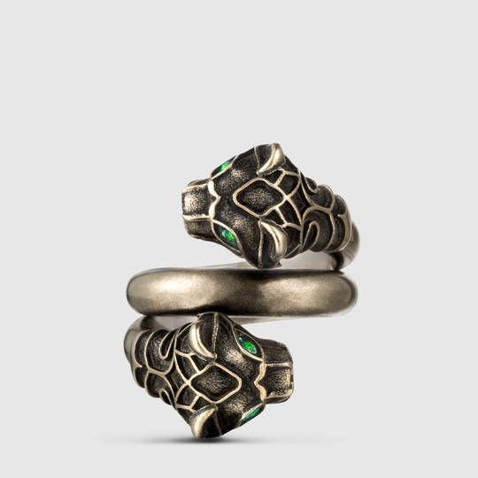 Gucci Tiger head ring