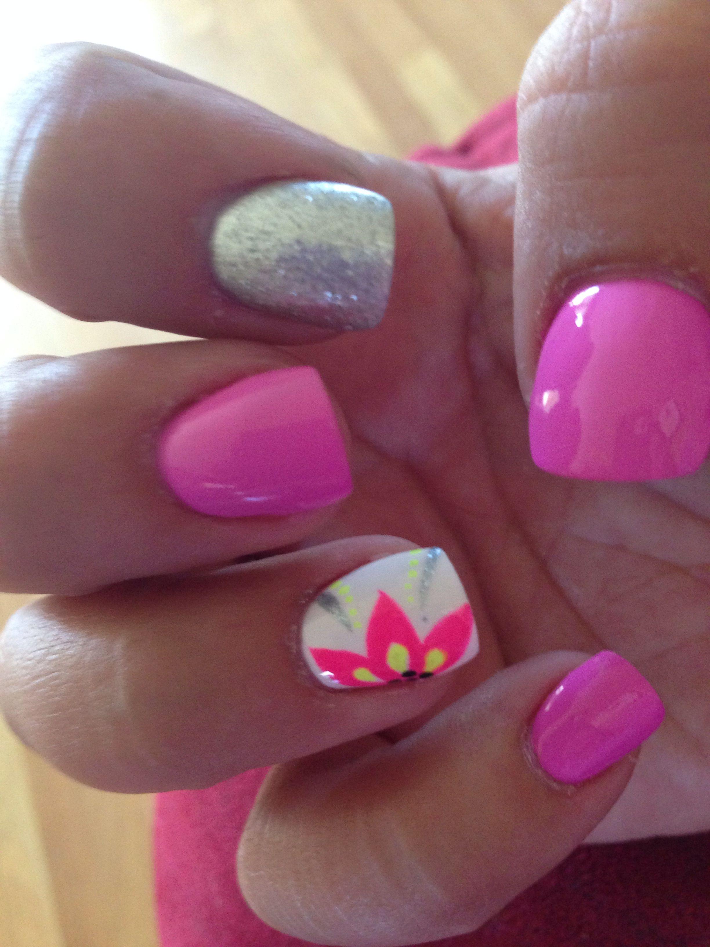 Cute Summer Nails Nails Toe Nails Shellac Nails