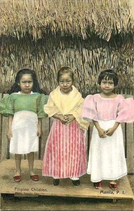 Filipino children of Manila