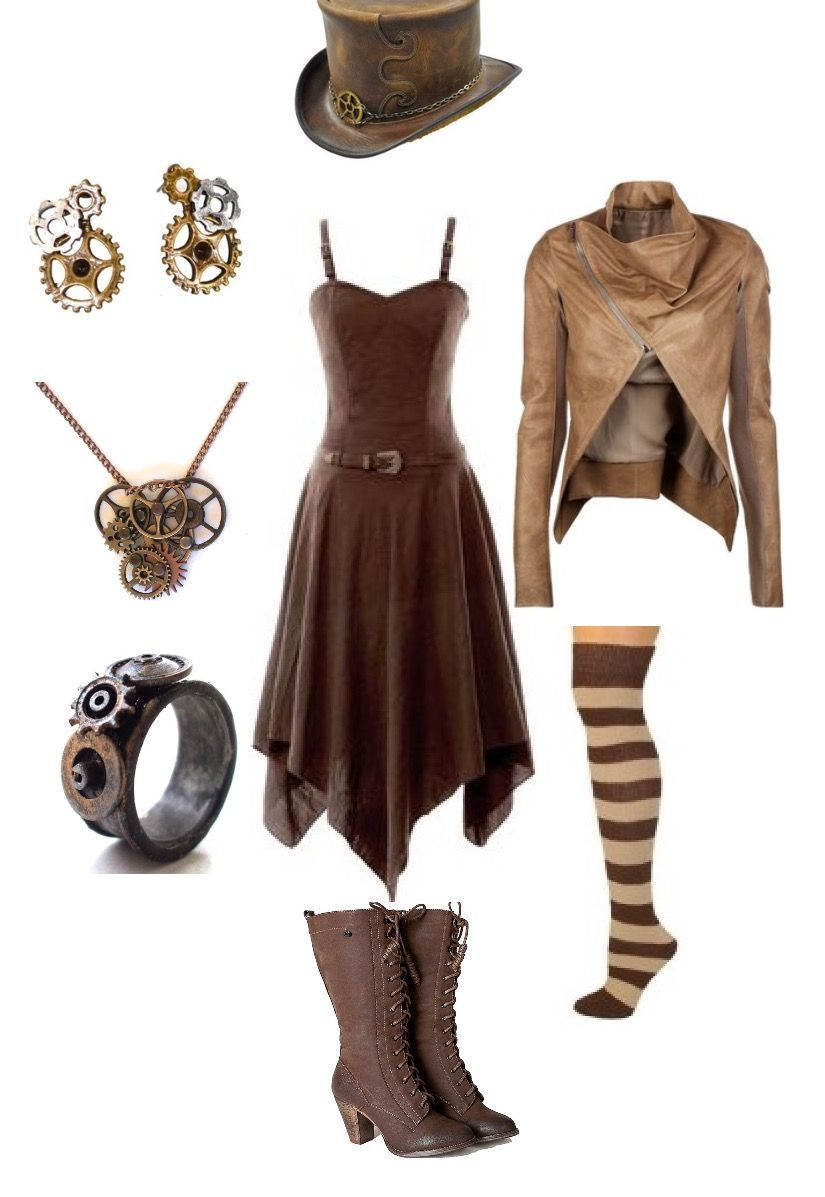 my 1st choice for a casual steampunk outfit