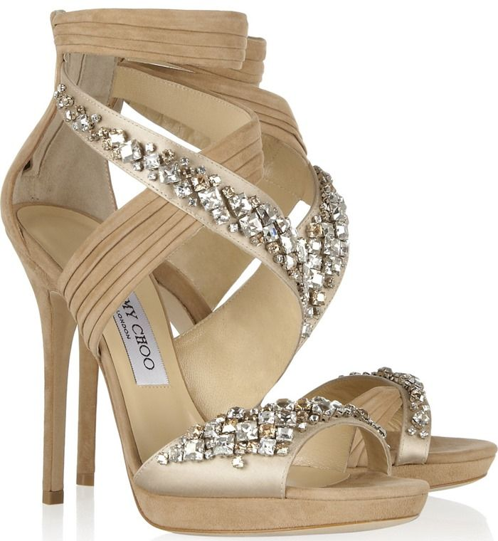 big discount cheap price sale extremely Jimmy Choo Embellished Platform Sandals 9z5Ztip