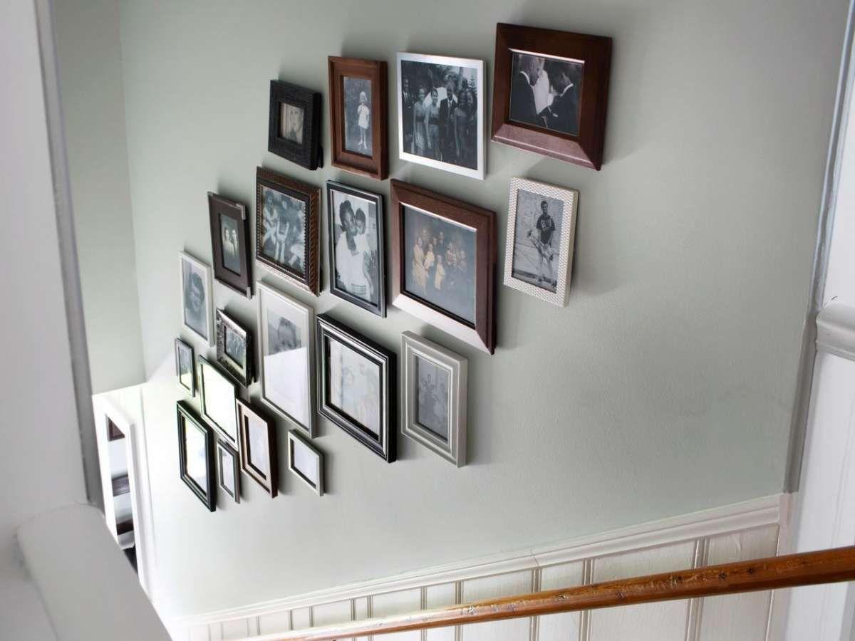 Come Pitturare Le Pareti Di Una Scala Interna disporre i quadri sulle scale | gallerie a parete, parete