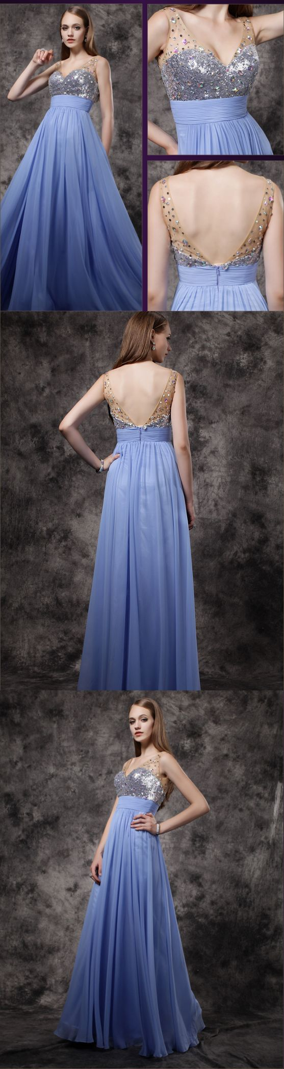 prom dress simple lavender chiffon aline cheap long prom dress