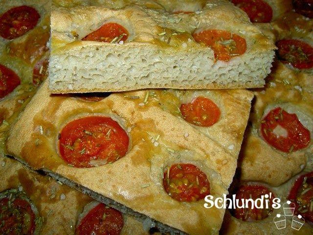 schnelle Tomaten-Focaccia