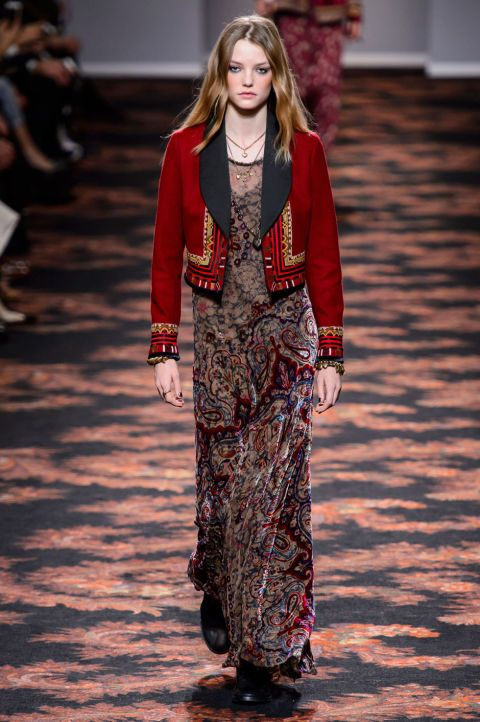 All the Looks From the Etro Fall 2016 Ready-to-Wear Show