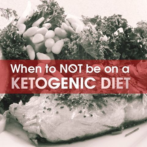 Here are a list of special cases where long-term stable ketosis is not appropriate. http://drjockers.com/when-not-to-be-on-a-ketogenic-diet/