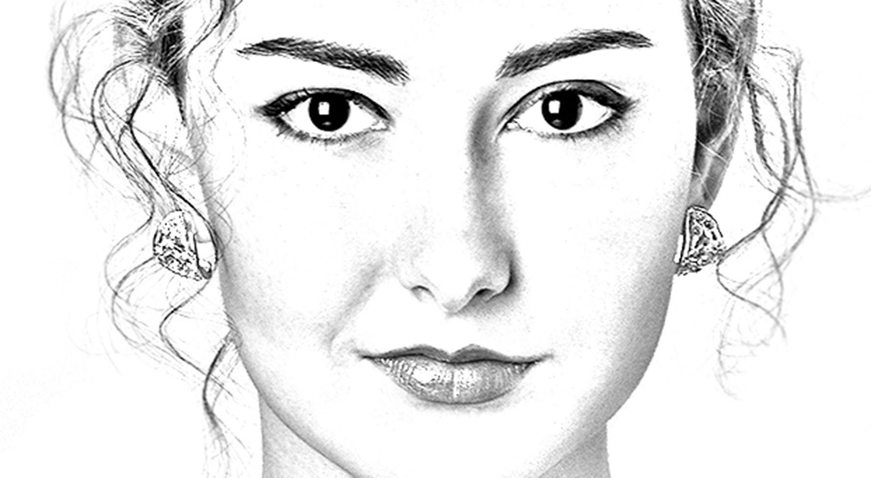Line Art Drawing Tutorial : Bleistiftzeichnung mit photoshop drawings and