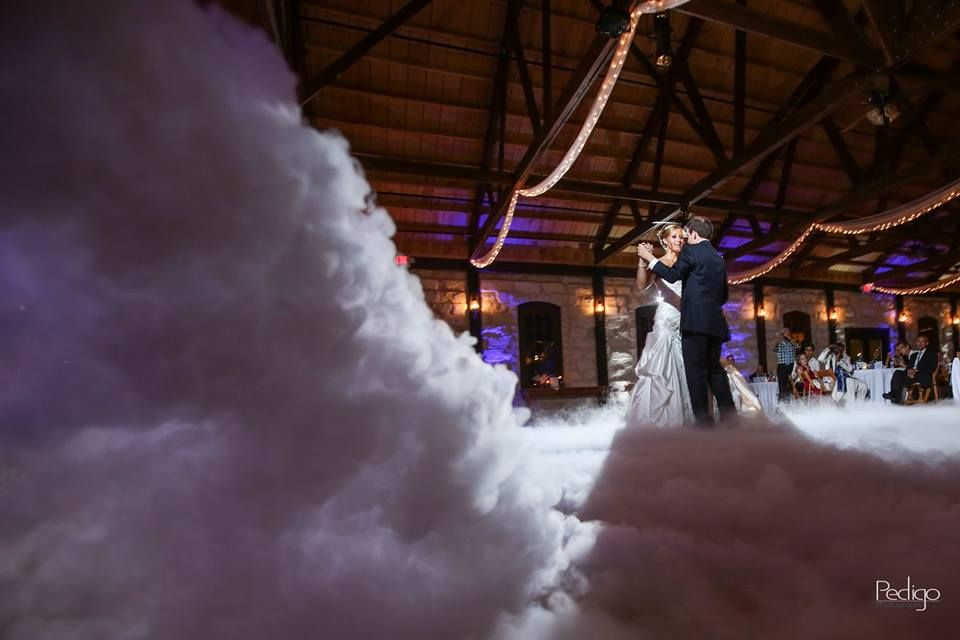 Create A Whimsical First Dance By Utilizing Our Dancing On A Cloud Nimbus Machine It S The Perfect W Wedding Photography Inspiration Disc Jockey Wedding Dj