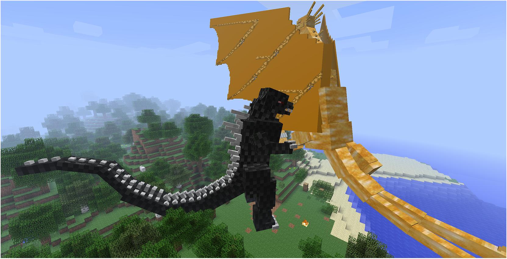 Minecraft Godzilla Mod Installer 10.10.10!  Voidswrath  Godzilla