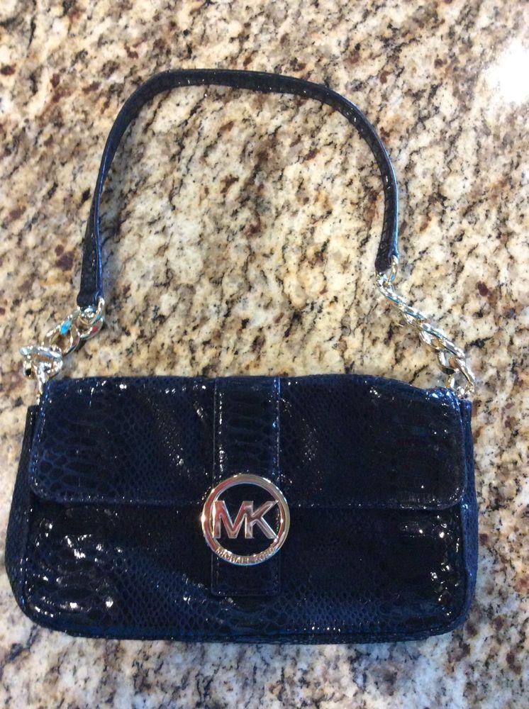 4029864b564ddd Michael Kors Black Snakeskin Leather Shoulder Bag #fashion #clothing #shoes  #accessories #womensbagshandbags ...