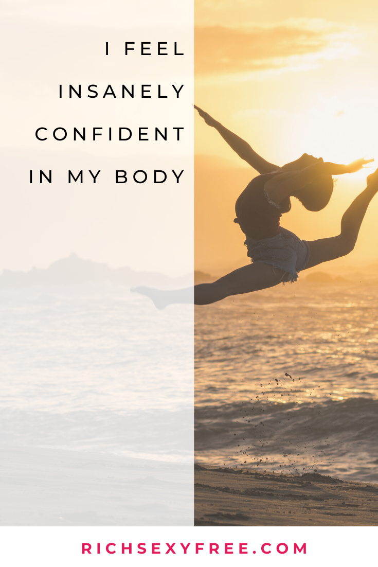 I Feel Insanely Confident In My Body | Self-Love + Confidence Mantra | Health + Fitness | Women, LOA...