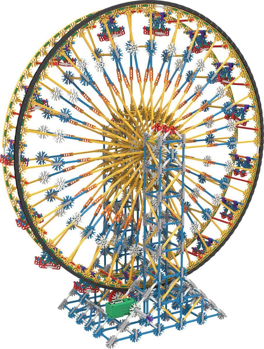 k nex big ball factory ferris wheel instructions