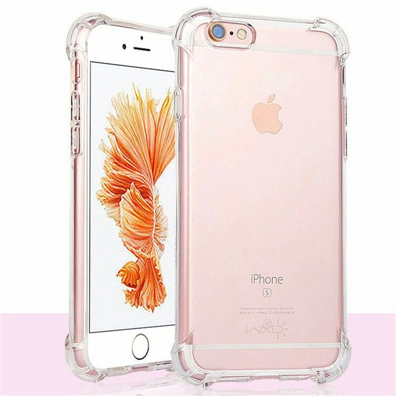 dbc9b64262 Shock-Proof Anti-Knock Protective iPhone 7 Plus / 8 Plus Soft Cases ...