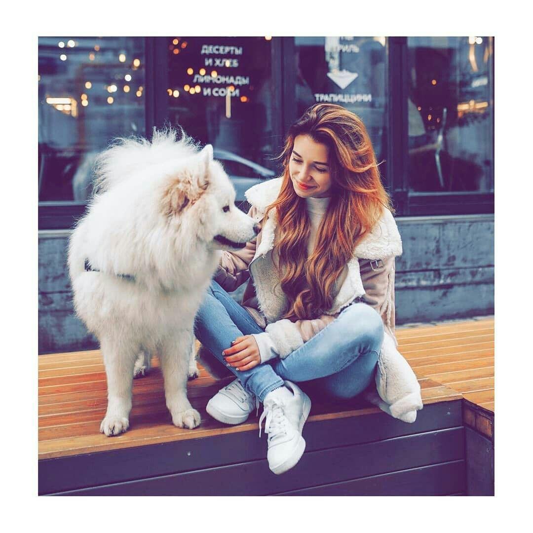 Emo girl girls with dog