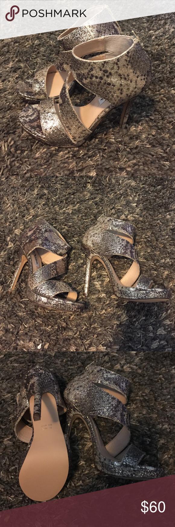 Sparkle heels👠 Nina brand heels, sooo cute never been worn! Nina  Shoes Heels