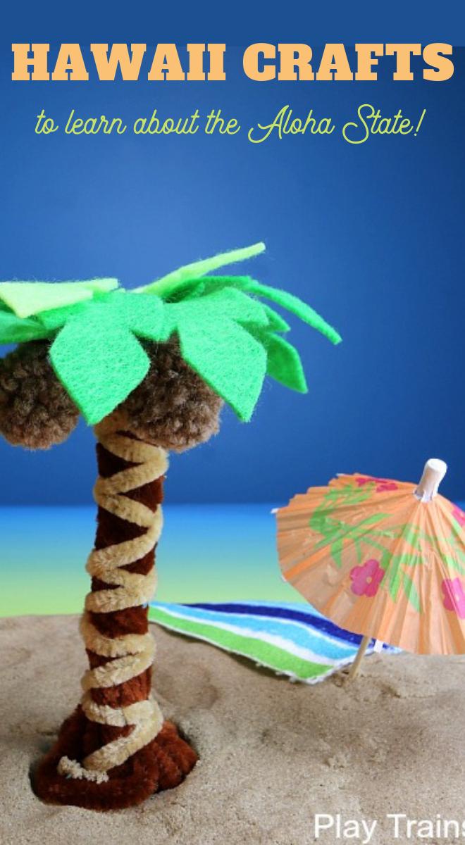 Hawaii Crafts for Kids 50 States Unit Study Hawaii