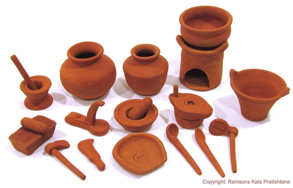 Handmade Wooden Kitchen Set Toy India
