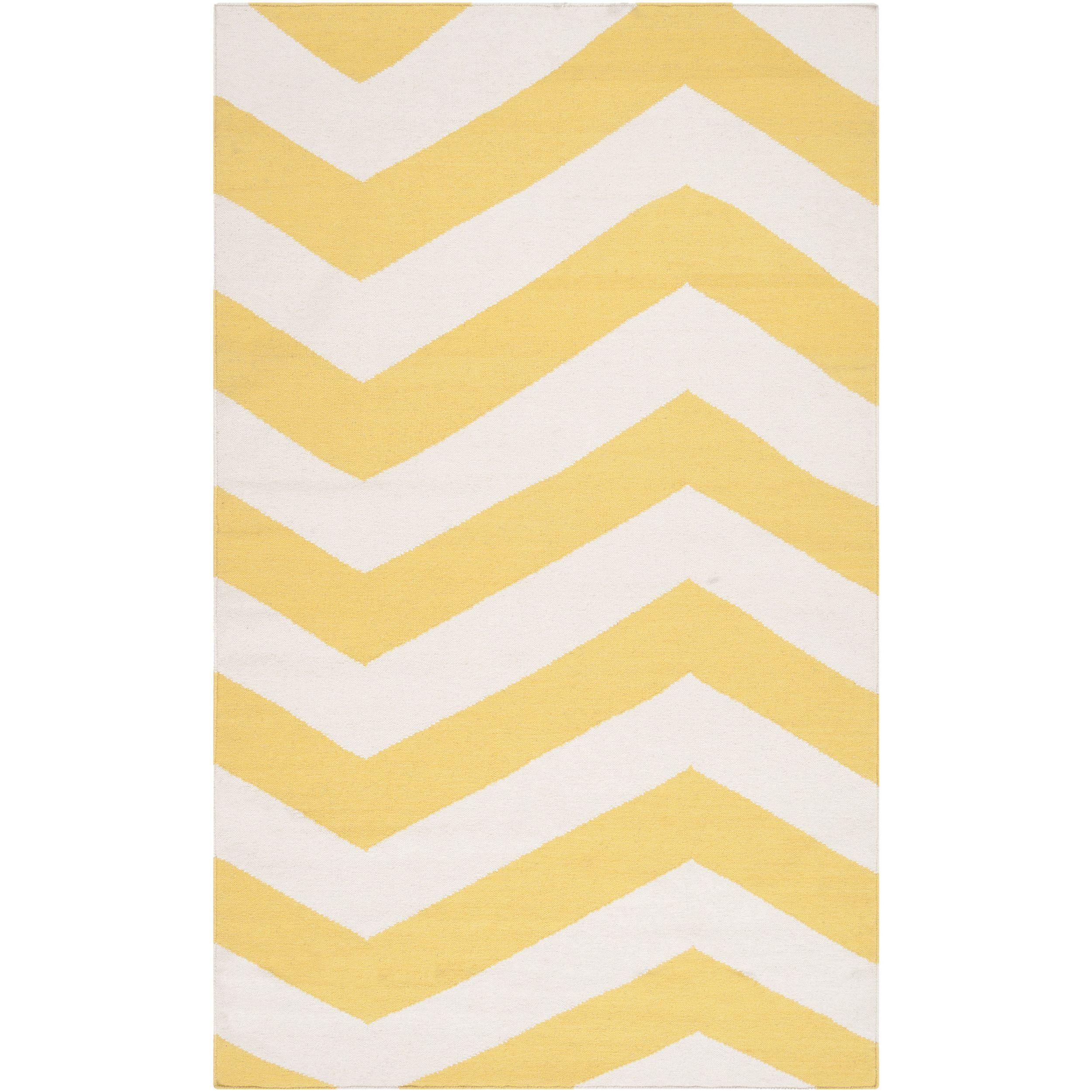 arvada flatweave chevron accent rug (' x ') (blue  (' x   - arvada flatweave chevron accent rug (' x