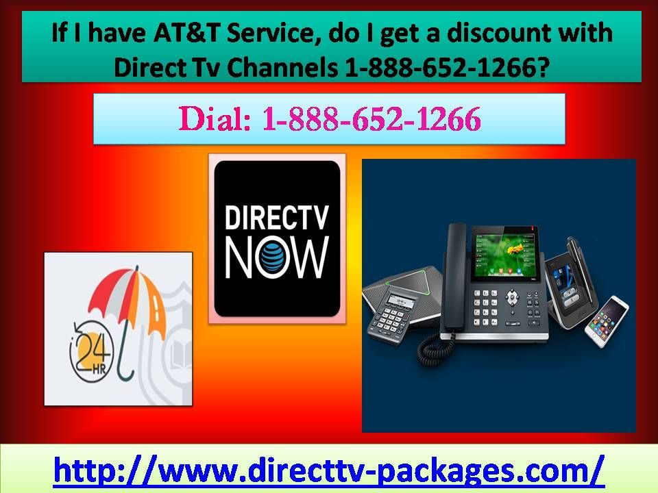 If I have AT&T Service, do I get a discount with Direct Tv