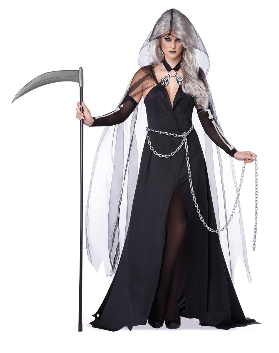 lady reaper adult womens costume spirit halloween - Scary Halloween Costumes Women