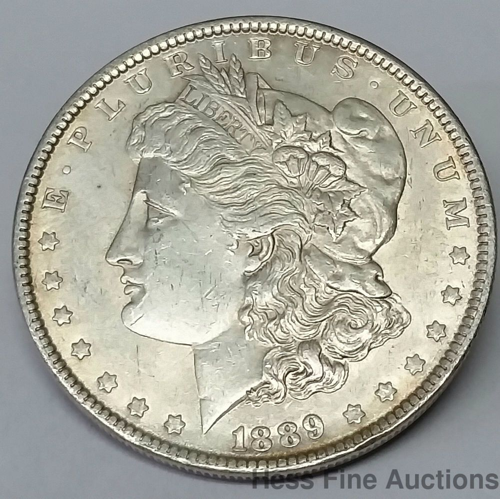 1889 Morgan Silver Dollar United States America Liberty Silver Coin Dollar 1 Morgan Silver Dollar Silver Dollars For Sale Silver Coins