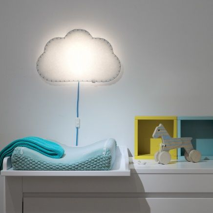 Is a brand new innovative online concept store ambient light room soft textile cloud wall lamp aloadofball Image collections