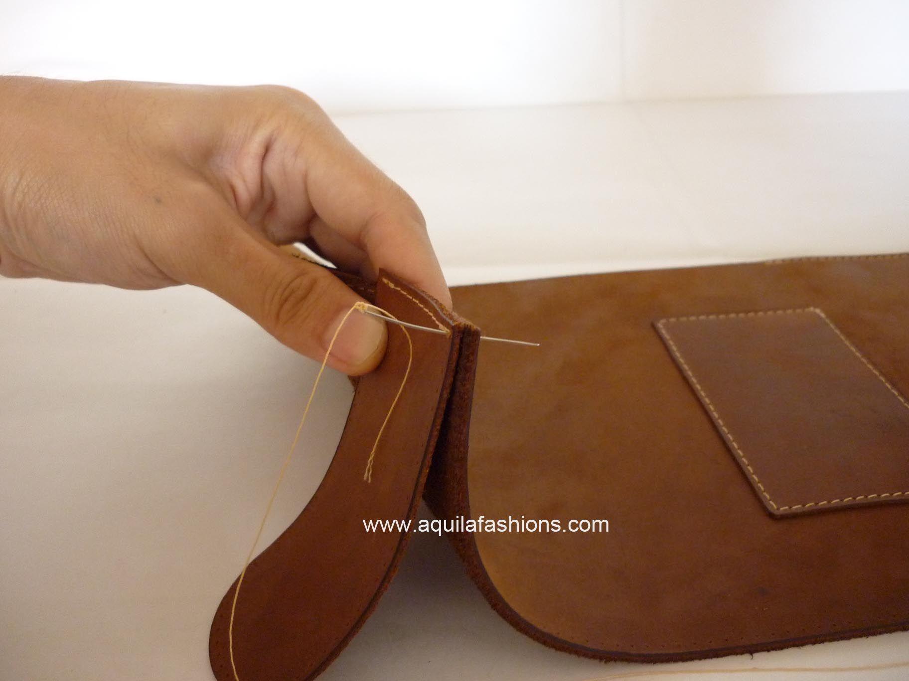 Diy Your Own Bag Kit Mens Leather Bag Diy Leather Laptop Bag