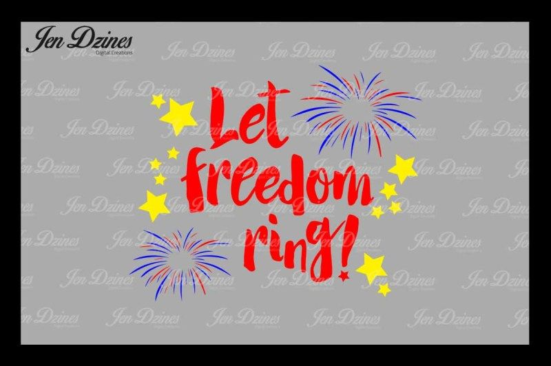 Free Let Freedom Ring Svg Dxf Png Eps Crafter File Di 2020