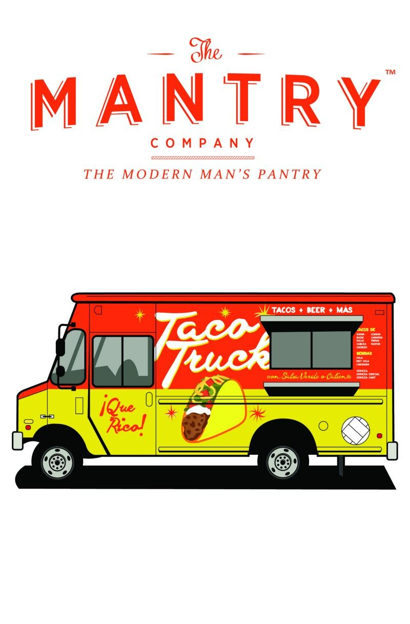 Taco Truck // April 2015 Mantry from Mantry (The Modern Man's Pantry) the #1 Food Gift For Him.  America's Best Food, Delivered. Helping Guys Cook Better.  Join at Mantry.com for $49