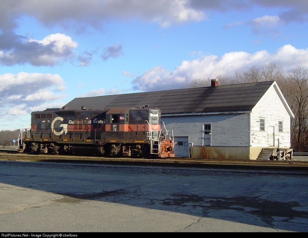 RailPictures.Net Photo: ST 72 Guilford Rail System EMD GP9 at Waterville, Maine by cbellows