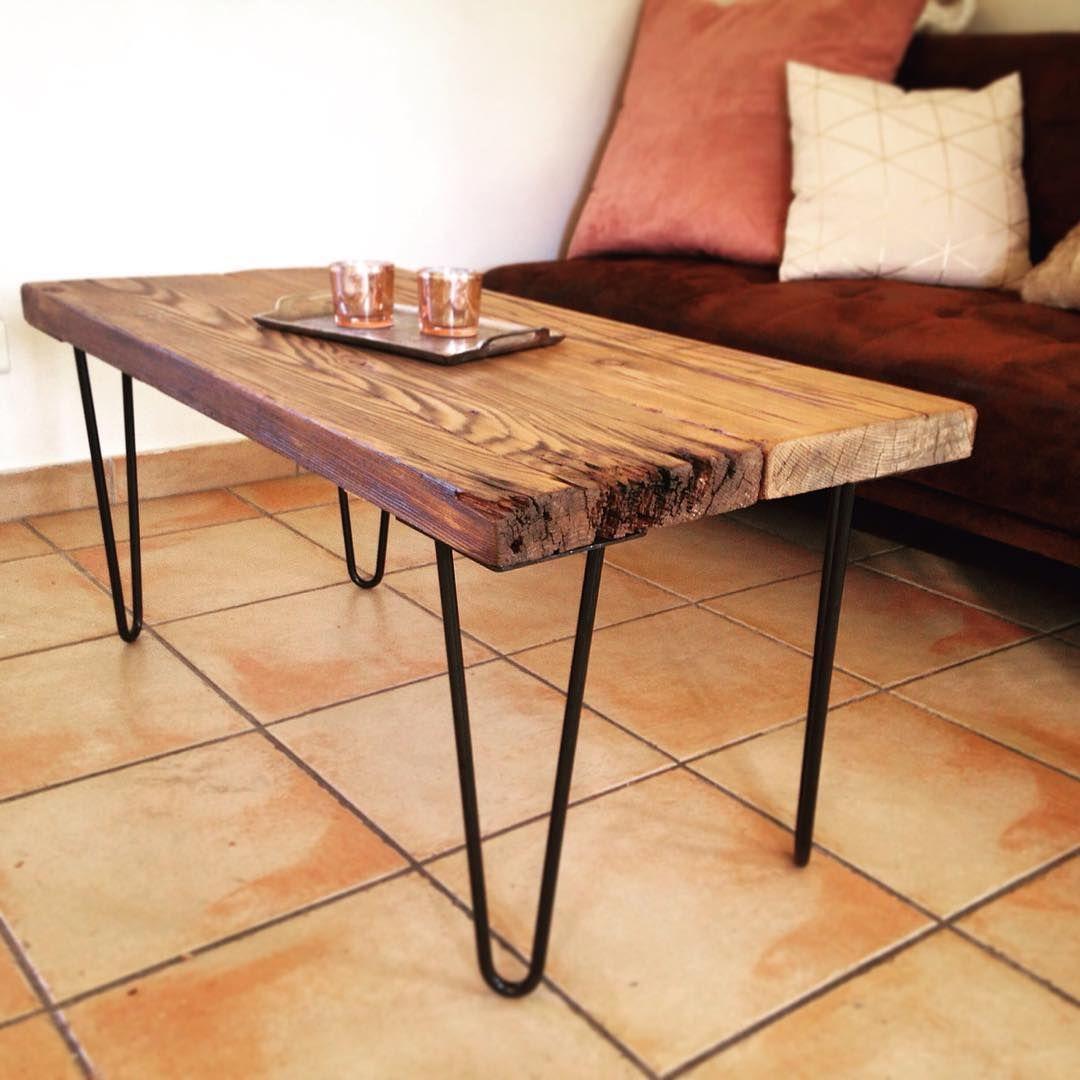 Atelier Ripaton Hairpin Legs Petite Table Basse Pour Decouper Votre Salon A Votre Gout Plusieurs Couleurs E Table Basse Pieds De Table Petite Table Basse