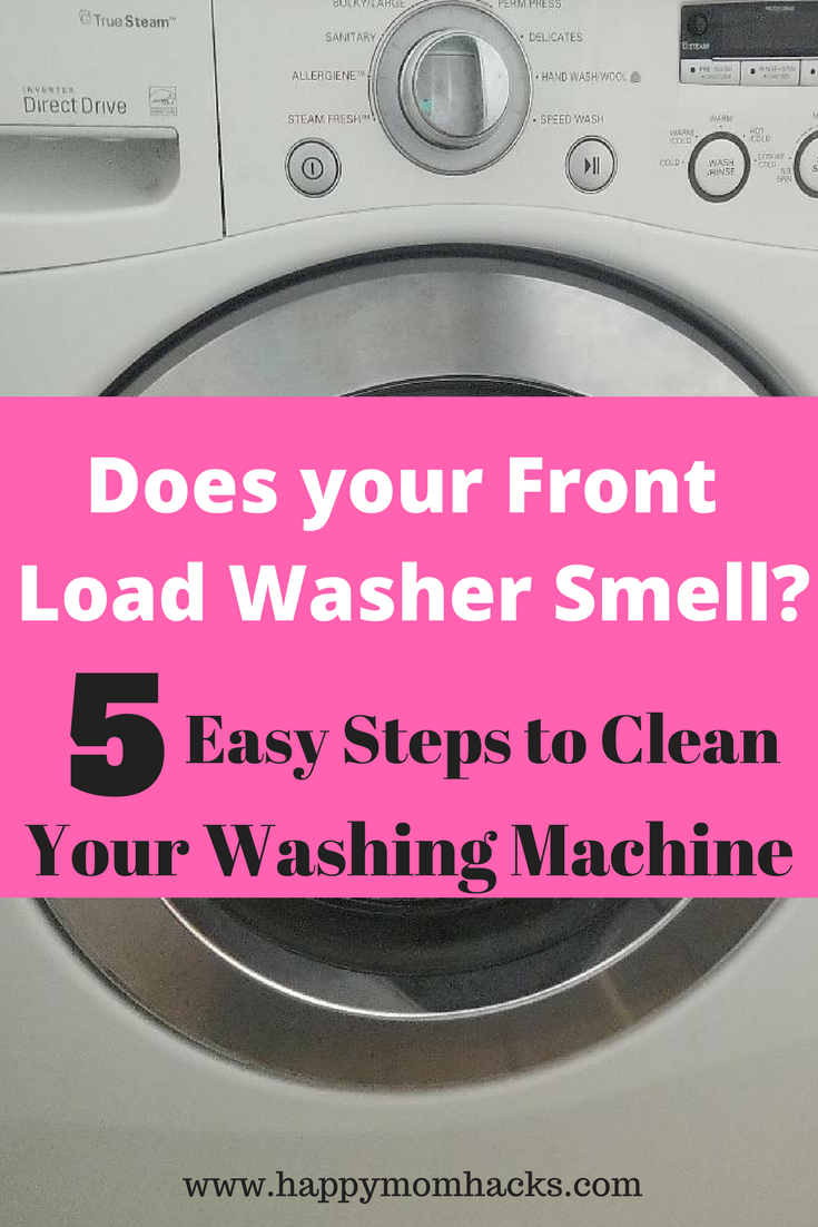 How To Clean A Front Loading Washing Machine With Bleach