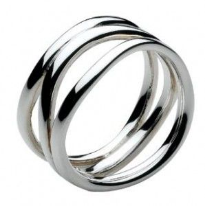 silver ring ~ love this!  9a83e047f02a7