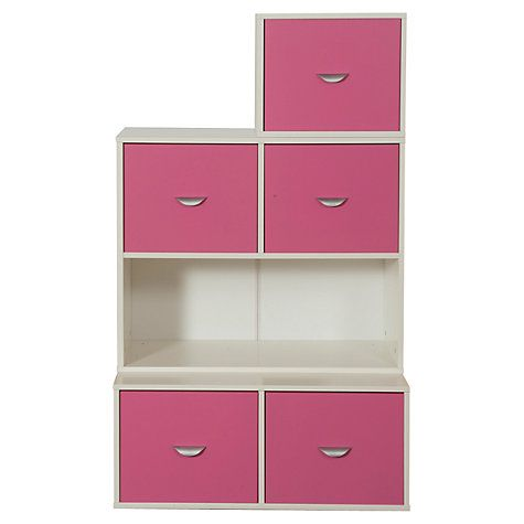 Buy Stompa 3 Unit Storage Combination, White Online at johnlewis.com ...