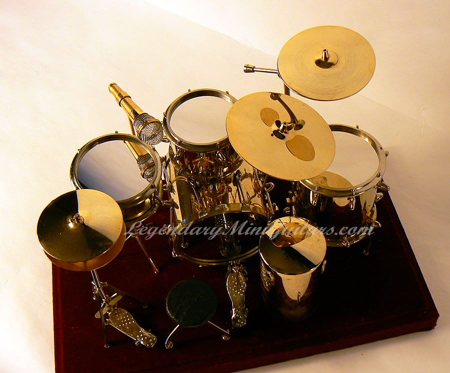Dollhouse Miniature Sectional Sofa 100 Top Grain Italian Leather 1:6 Scale Brass Drum Set | Collectible ...