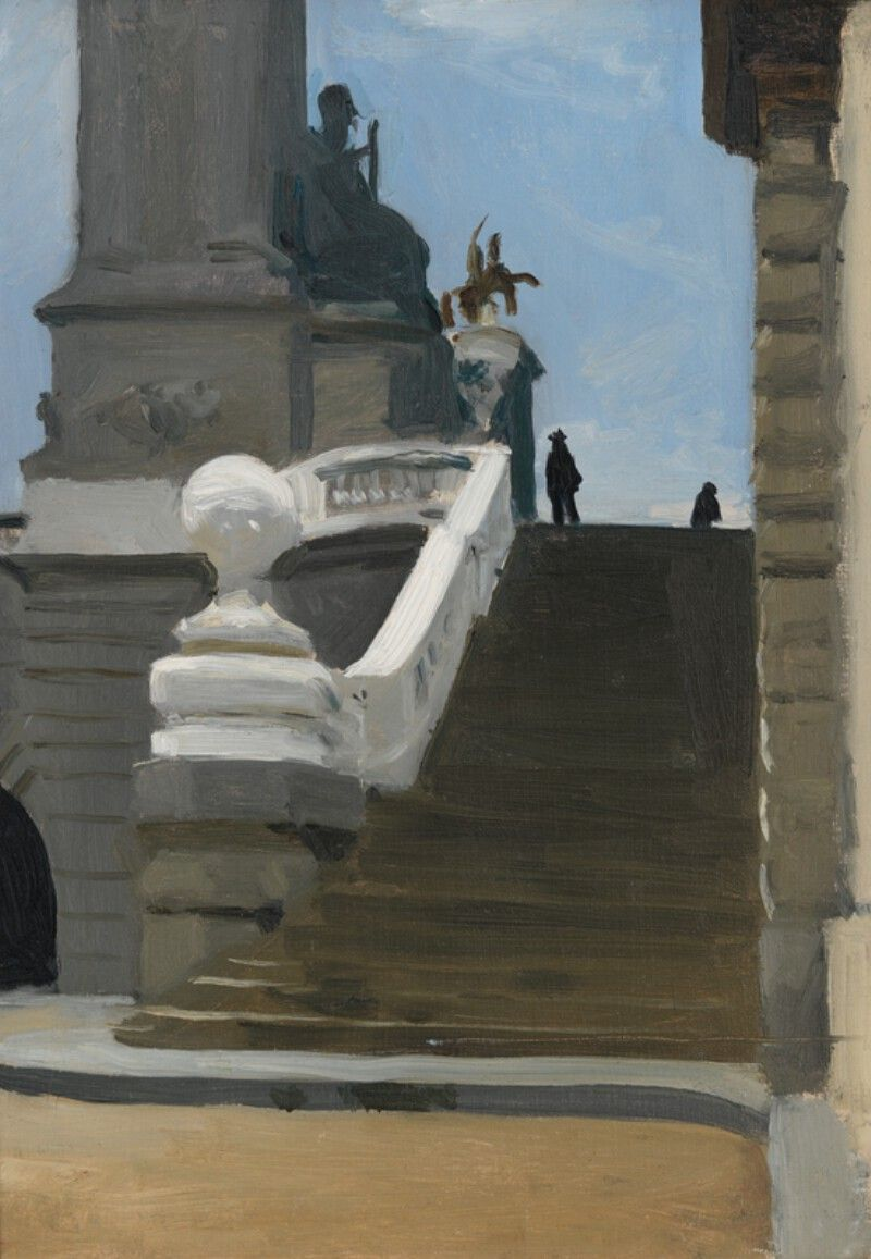Edward Hopper Paris Paintings