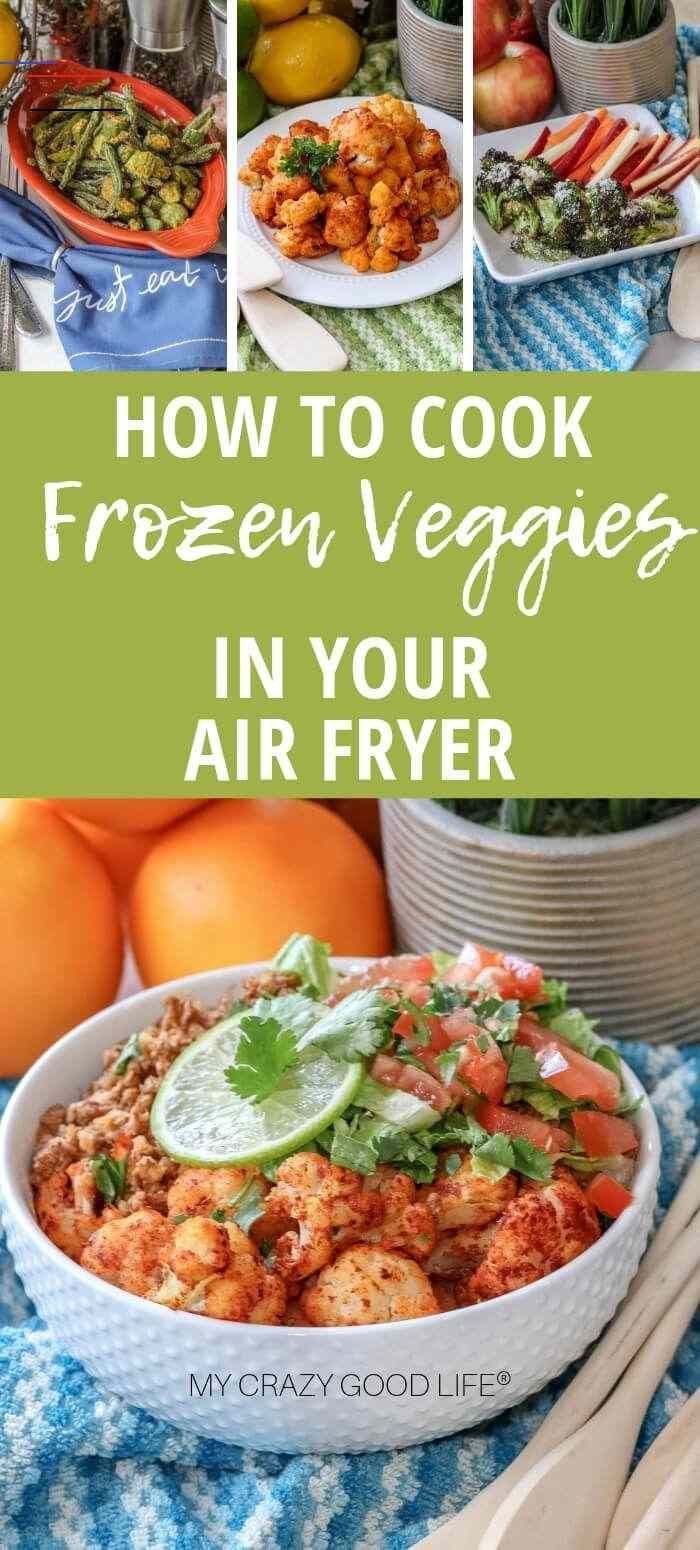 How to Air Fry Frozen Vegetables airfryerrecipeshealthy