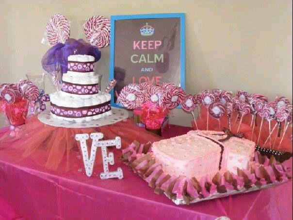 Mesa de dulce presentacion valentina