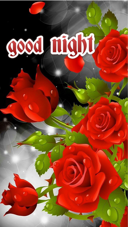 Sweet Dreams Good Nite Flowers Rose Wallpaper Red Roses