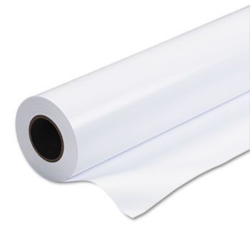 """Rapid-Dry Photographic Paper, Satin, 6 Mil, 24"""" X 100 Ft Roll, White"""