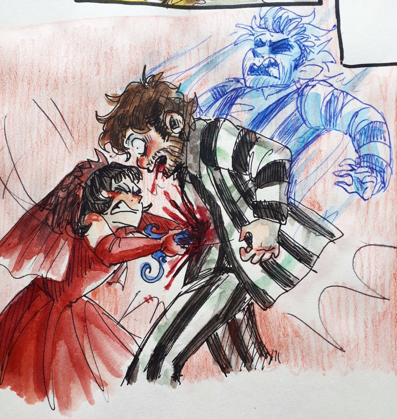 Beetlejuice Happy Halloween By E Hima Deviantart Com On