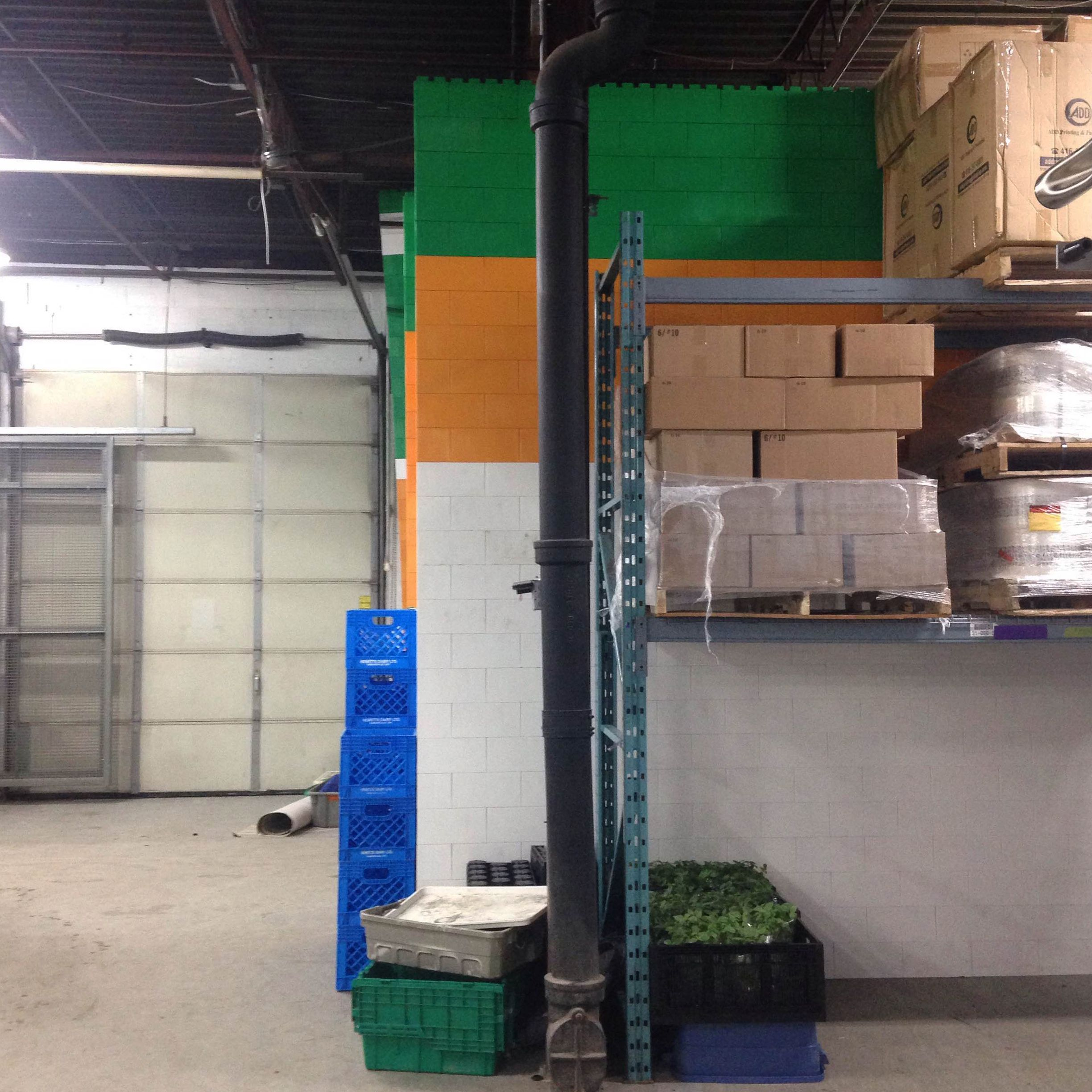 Fresh City Farms Warehouse #Wall #Modular #Everblock #Buildingblock #Create #Design