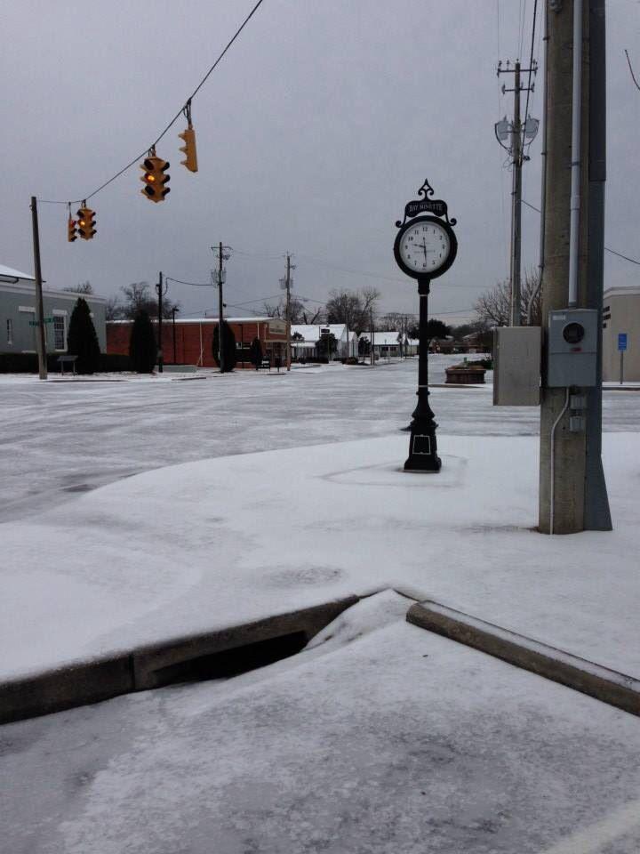 City of Bay Minette AL Snow 1-28-14
