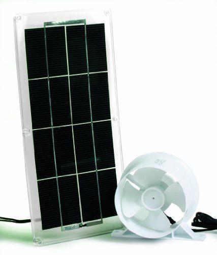 Amazon Com Camco 42162 Solar Panel And Fan For Refrigerator Vent Automotive Solar Panels Solar Solar Power Diy