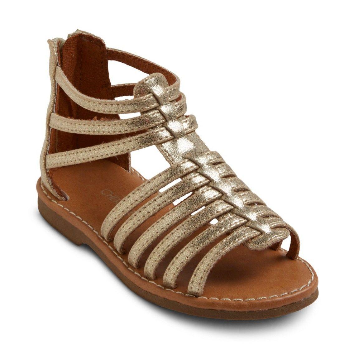 15984b2a7633 Toddler Girl s Cherokee  Jennifer Gladiator Sandals - Assorted Colors