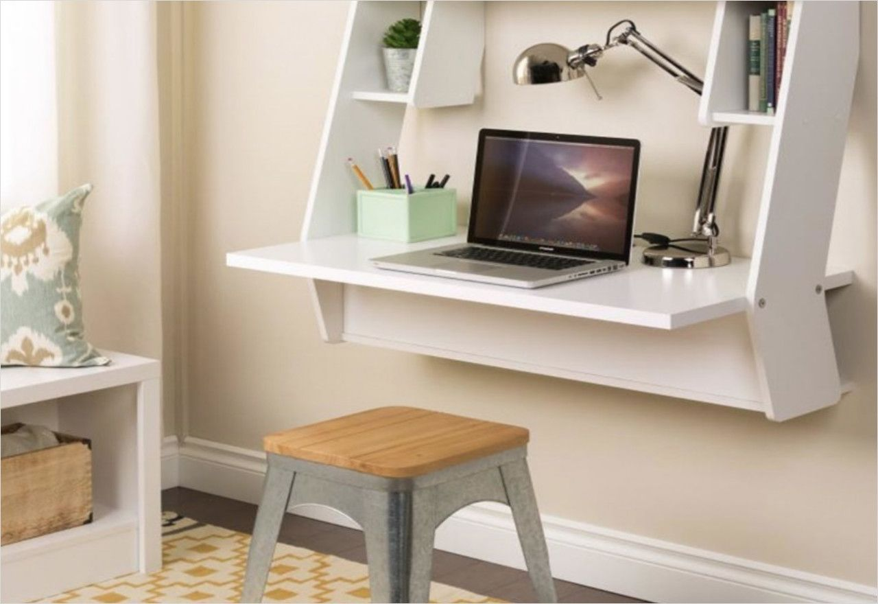 Wall Mounted Desks For Small Spaces 21 Best Wall Mounted Desk Designs For Small Homes Diy Wall