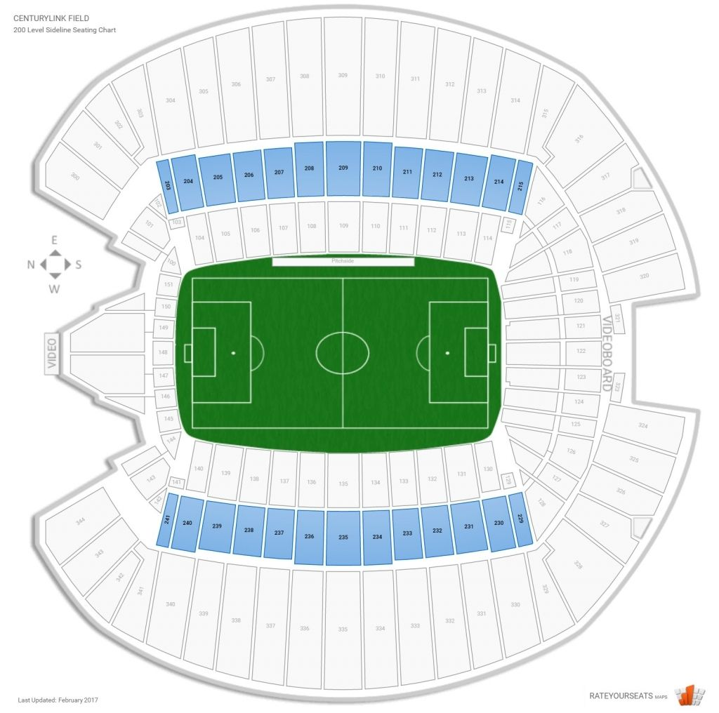 Centurylink Seating Chart With Rows